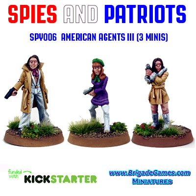 Spies and Patriots - SPY006  American Agents III (3)