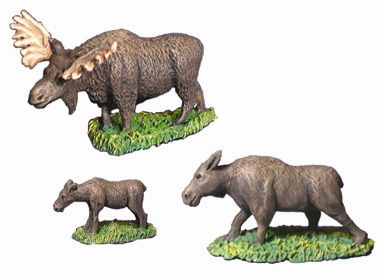 Moose - set (28mm)
