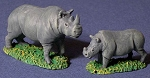 Rhino - set of 3