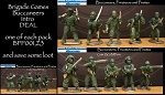 Buccaneers, Pirates & Privateers Release 1 (15 figures)(SPECIAL DEAL)