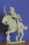 BG-DDC202  Arab Woman with sword riding Horse