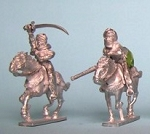 Pack of DDC203 & 204 Daughters of the Desert cavalry figures (2)