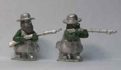 Gnome Wars Southern Americans (Confederate) Infantryman Firing (1)