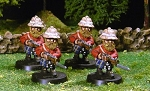 British Highland Gnome Regiment (16 miniatures)