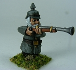 German in Picklehaub Gnome Firing