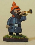 German Gnome Bugler