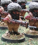 Sikh Gnome advancing w/ SMLE and bayonet