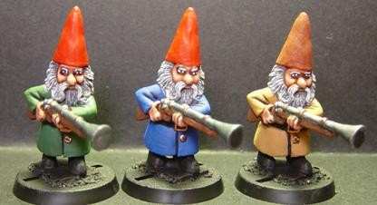 Swiss Gnome w/Blunderbuss, Advancing (1)