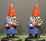 Swiss Gnome w/Pick-Axe, Advancing (1)