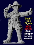Mob Wars Deal 1 - free State Trooper figure (G1,G2,P1)