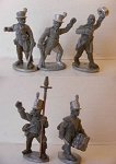 BG-NBR005  British Infantry Command (5)