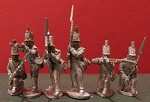 BG-NBR007  British / KGL Infantry - Centre Co. Skirmishing - trousers/no backpacks - stovepipe shako (all 6 variants)