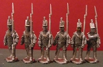 BG-NBR011  British / KGL Infantry - Centre Co. Marching - trousers/no backpacks - stovepipe shako (all 6 variants)