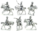 BG-NBR081  Napoleonic British Light Dragoons 1808-1812 (3 figure pack)