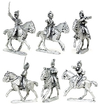 BG-NBR080 Napoleonic British Light Dragoon command 1808-1812 (3 figure pack)