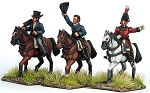 BG-NBR201  Napoleonic British Generals, Duke of Wellington, General Hill and General Picton