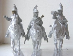 BG-NFR080-82  French Cavalry Dragoons Command (3 variants)