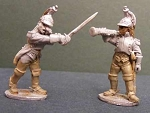 BG-NFR085  French Cavalry Dragoons - Dismounted - Command (2)