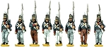 BG-NPT001  Portuguese Line Infantry Marching (8 figure pack)