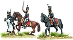 BG-NPT004  Portuguese Mounted Colonels and Foot Pioneer (2 x mtd colonels)