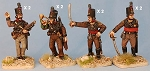 BG-NPT005  Cacadores command (8 figure pack)
