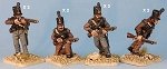 BG-NPT006  Cacadores armed with rifles (8 figure pack)
