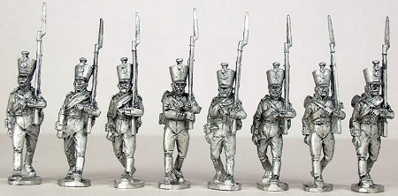 BG-NRU001  Russian line infantry marching 1805-1808 (8)