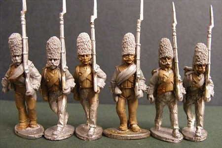 Spanish Grenadiers Marching (1 of 6 poses)