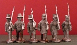 BG-NCA120  War of 1812: Canadian Militia - Marching (All 6 variants)