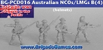 Australians in the Pacific - NCOs/LMGs C - Tin Helmets (4)