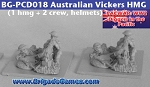 Australians in the Pacific - HMG & 2 crew - Tin Helmets (4)