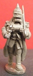 Steampunk: Prussian Empire Trooper Officer in Rebreathing Apparatus (1)