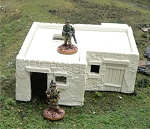 Middle East / North African Building - large - for 28mm