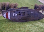 British Mark V Tank - Hermaphrodite