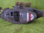 British Mark V Tank - Male