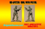 BG-APC126  Girl with Pistol
