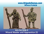 BG-FAC008-9  Wizard Master and Apprentice - Adventurers of the North Range