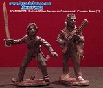 BG-NBR074  British Rifles Veterans Command - Chosen Men (2)