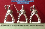 BG-NBR092 Napoleonic British Heavy Dragoons II, 1808-1812 (3 figure pack)