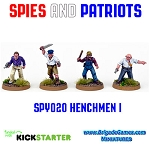 Spies and Patriots - SPY020  Henchmen I (4)