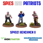 Spies and Patriots - SPY021  Henchmen II (3)