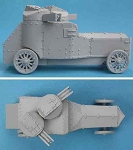 K61 Armstrong-Whitworth Armoured Car (1/55th)
