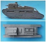 K62 Medium C `Hornet` Female Tank (1/55th)