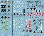 Decals: German Tank Decals Set A