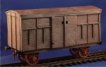 Civilian Train Box Car (1/56th)