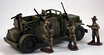 M1 Scout Car with 4 Crew (1/56th)