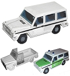 Mercedes G Wagon Civilian (1/56th)