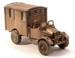 Morris 15CWT Light Truck - Communications Van  (1/56th)