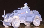 German Sdkfz 221 Armored Car (1/56)