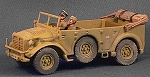 Horch 1a Staff Car with driver and officer (1/56th)
